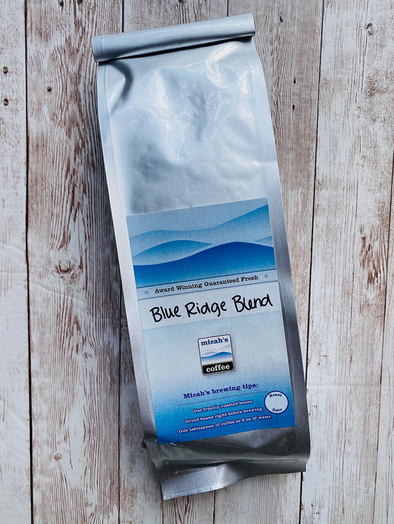 Micah's Blue Ridge Blend Coffee